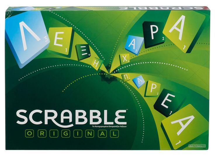 Mattel New Scrabble Original (In Greek) (Y9600)  Manufacturer: Mattel Barcode: 746775260767 Enarxis Code: 016470 #toys #Mattel #Scrabble #boardgames