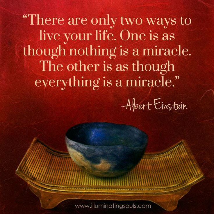 Einstein Miracle Quote Daily Inspiration Quotes