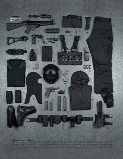 Police Special Forces gear