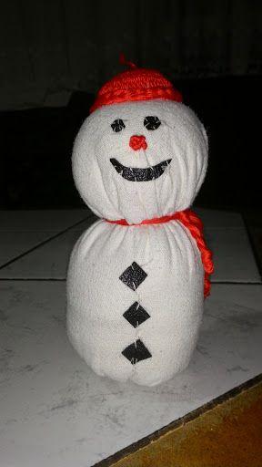 ÜÇ OĞLAN ANNESİ: Kar Yoktu Bezden Adam Yaptık :)