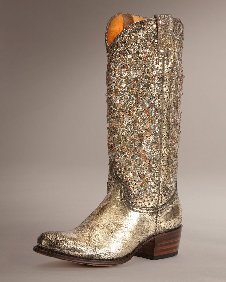 68 best Gold Boots images on Pinterest