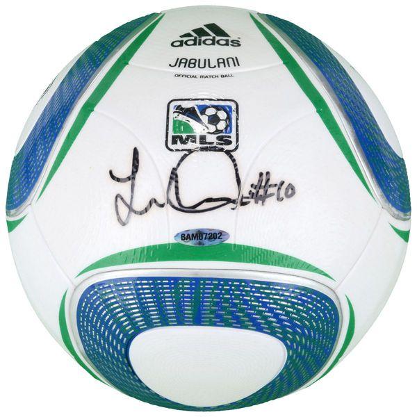 Landon Donovan LA Galaxy Upper Deck Autographed MLS Soccer Ball - $399.99