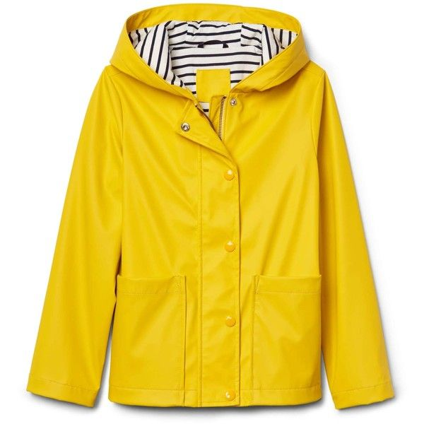 Jersey Lined Raincoat 921 740 Idr Liked On Polyvore Featuring