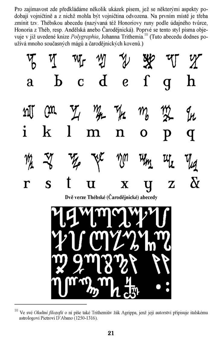 Voynichův rukopis v. Lovecraftův Necronomicon/Vojničův kód