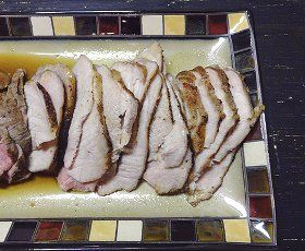Sunday Night Pork Roast  - a hearty pork roast recipe that is loaded with flavor