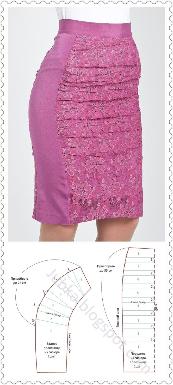 Pretty skirt pattern-maybe a size larger, lol!