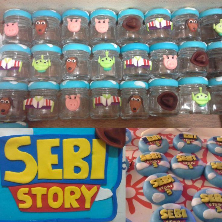Frascos Toys Story Souvenirs