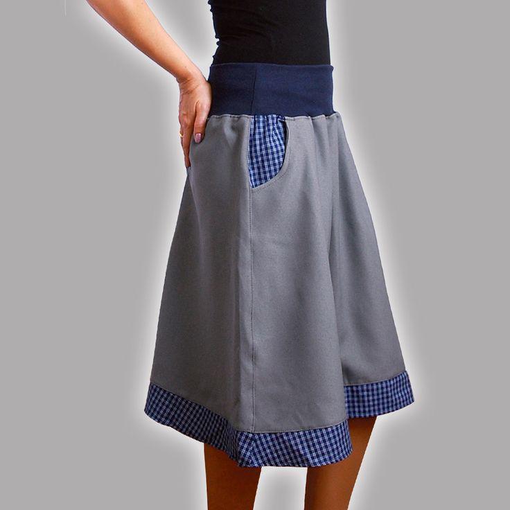Půlkolová sukně SLEVA z 599,-