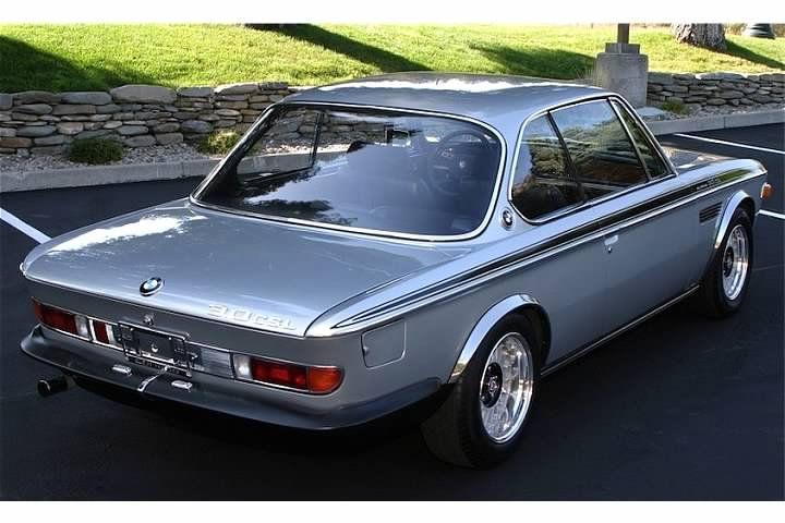 Pristine and rare BMW 3.0 CSL