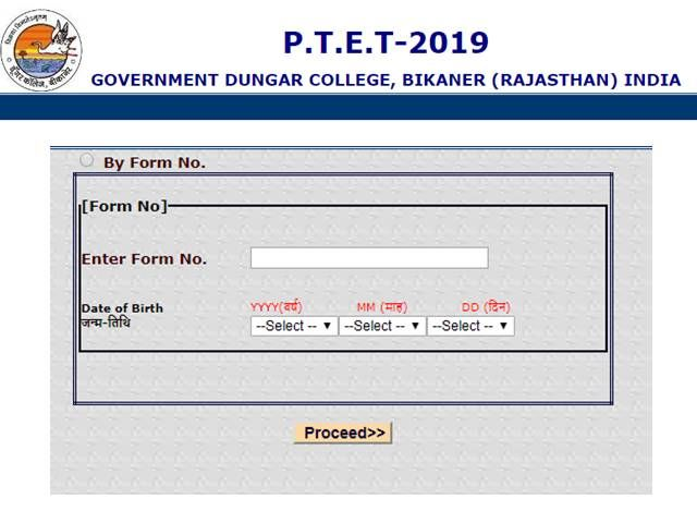 Candidates Can Now Register For The Rajasthan Ptet 2019 Counseling Counseling Online Registration Admissions