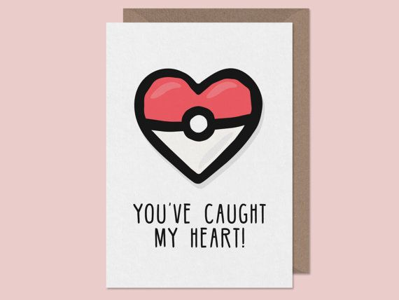 Pokeheart card valentines card. -------------------------------------------------------------------------------------------------------  UK + Eire Estimated delivery of 1-3 working days  EU (Germany, France, The Netherlands, Belgium, Italy, Spain, Denmark, Sweden etc) Estimated Delivery of 3-5 working days.  Rest of World (USA, Australia, New Zealand, Japan etc) Estimated Delivery of 5-7 working days.  Please take responsibility for ordering your cards with the timescale in mind. We process…