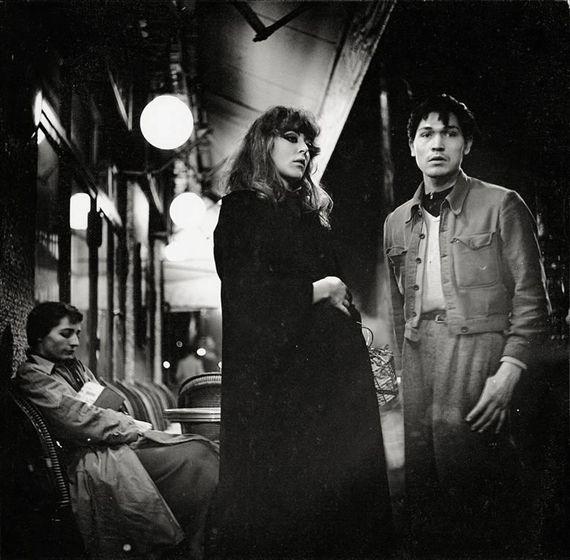 "Ed van der Elsken. Paris la nuit, 1952.  Vali Myers, center. (Probably from Elsken's book ""Love on the Left Bank."")"
