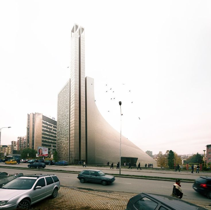 Central Mosque of Pristina Competition Entry | Tarh O Amayesh | Kosovo | DesignDaily | Designs Everyday!