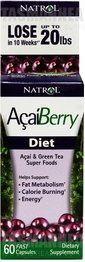 #Natrol Acai Berry Diet ()