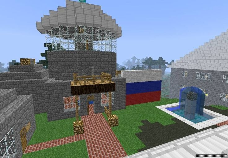 Minecraft building- russian house
