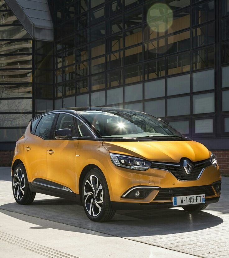 New 2016 Renault Scenic.