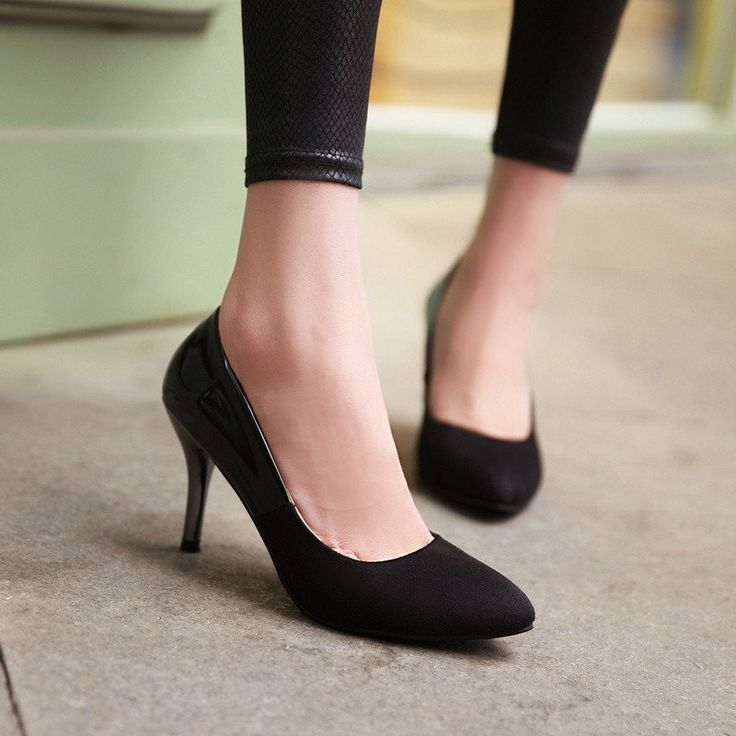 High Heels Platform Pumps Steady Shoes