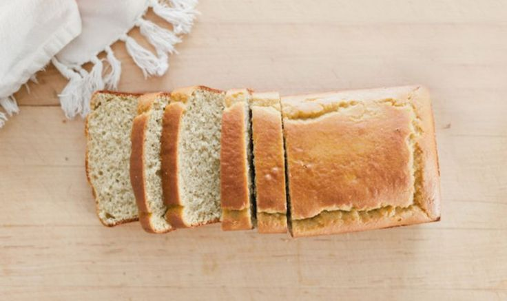 """Almond Flour Bread (recipe) - """"If you've been looking to cut down on highly processed breads and starches, you'll love this recipe."""""""