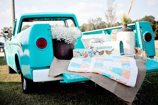Turquoise Country Wedding