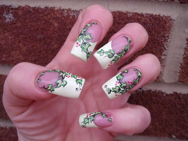 Best 25 poison ivy nails ideas on pinterest poison ivy party green with ivy by seeka nail art gallery nailartgalleryilsmag prinsesfo Image collections