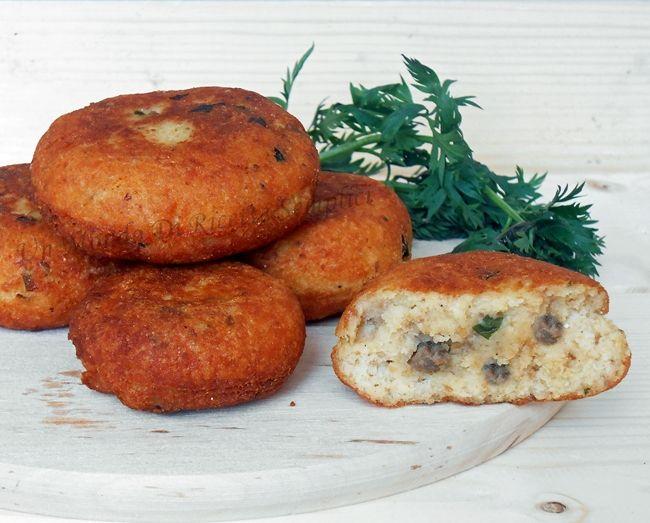 Polpette di funghi e patate,per golosi | Un mondo di ricette semplici