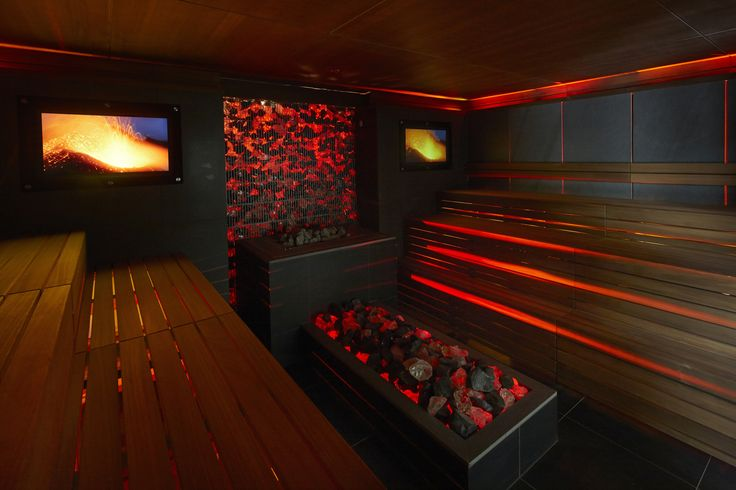 The Lava Volcano Sauna at Aqua Sana Woburn