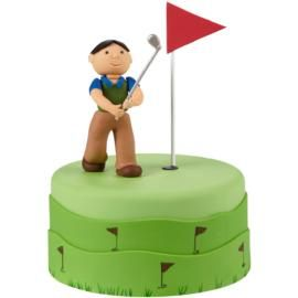 Cake Decorating Golf Figures : 17 Best images about Fondant Cake Decorations on Pinterest ...
