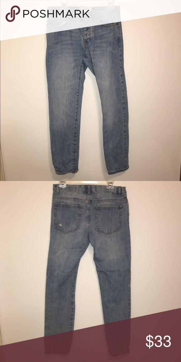 Skinny Topman Jeans Light denim wash , NWOT mens skinny jeans from Topman size 32R never worn Topman Jeans Skinny