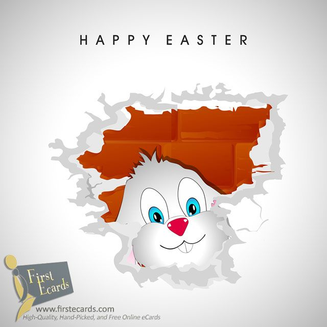 Happy Easter — A Free Online Greeting eCards from FirstEcards.com