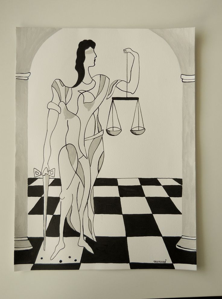 Justice No.2, acrylic on canvas, 30x40 cm, 2015. Painting from artist Peter Vamosi. Price: 90 EUR Spravodlivosť 2.., akryl na plátne, 30x40 cm, 2015, autor Peter Vamosi. Cena: 90 EUR