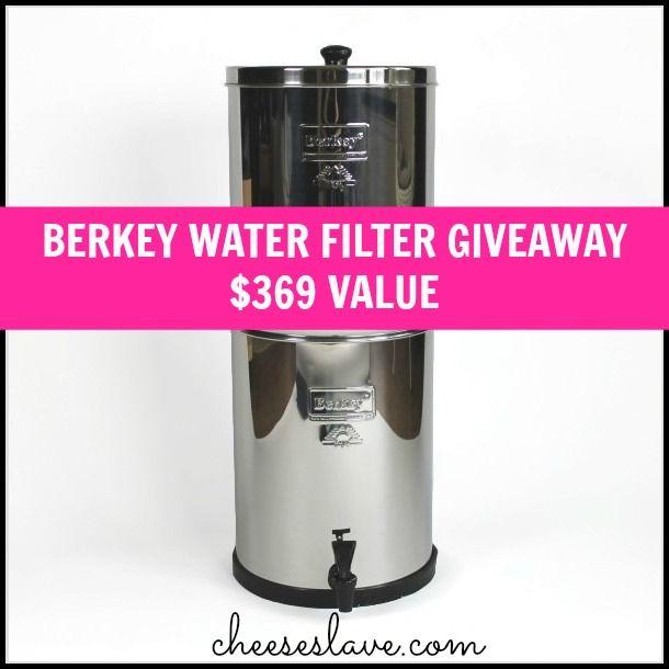 Royal Berkey Water Filter Giveaway - $369 Value