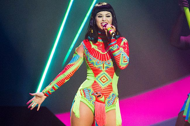 Katy Perry Launches Prismatic World Tour in Belfast, Posts Tour Set List Early | Billboard