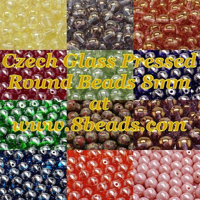 In stock - Czech glass pressed Round beads 8mm Buy here --> http://8beads.com/index.php?main_page=advanced_search_result&keyword=pressed+round+8mm В наличии - Бусины чешские стеклянные круглые 8мм Покупайте тут --> http://biser.ru/index.php?main_page=advanced_search_result&keyword=круглые+8мм Skladem - České skleněné mačkané kulaté korálky 8mm Nakupujte zde --> http://koralkomat.cz/index.php?main_page=advanced_search_result&keyword=kulate+8mm