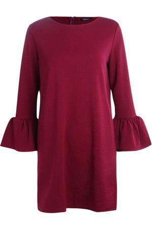 Dames Strakke jurken - Boohoo Ria Ruffle Sleeve Dress
