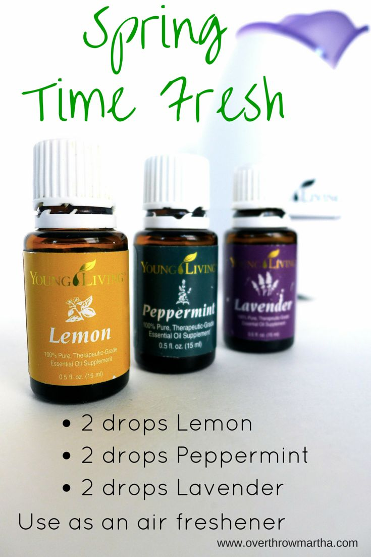 All Natural Chemical Free Air Freshener With Young Living
