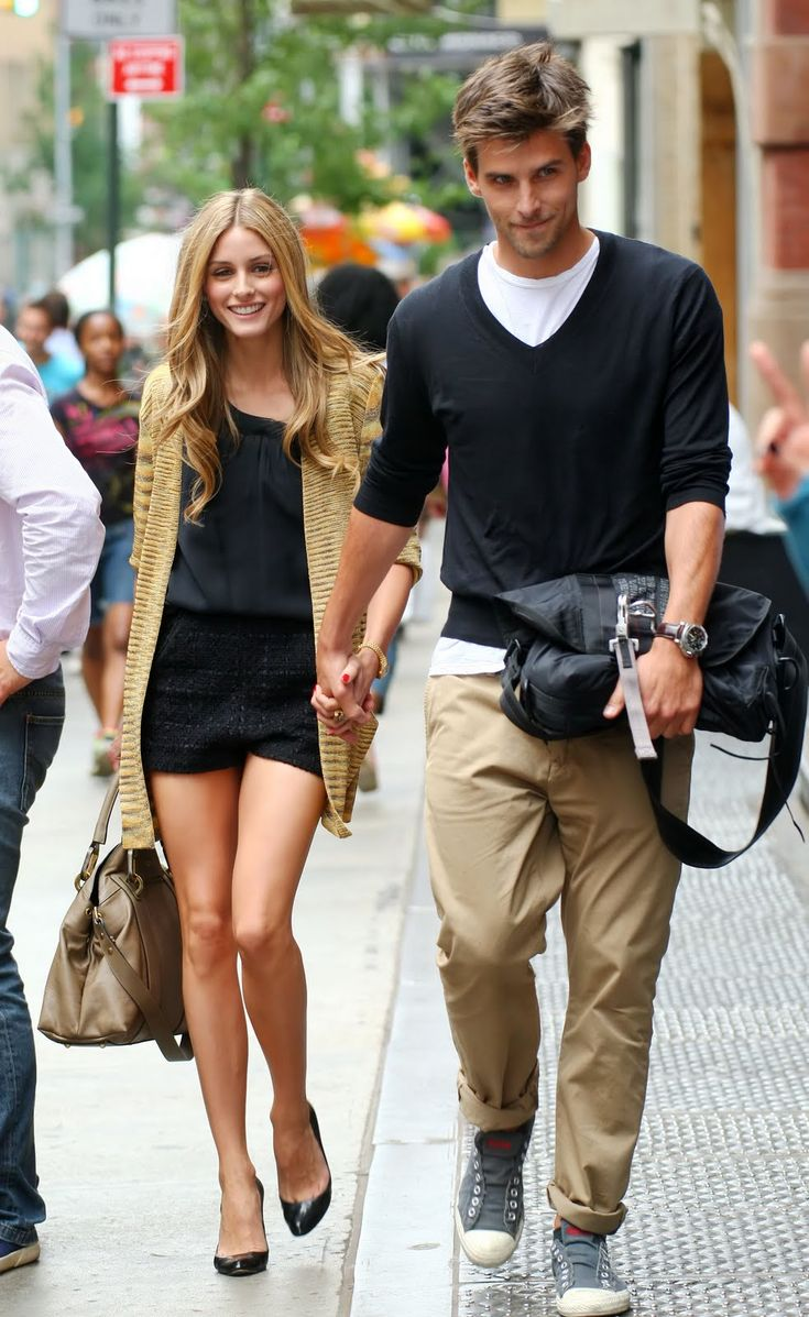 Love OP`s style and her boyfriend is so handsome :))
