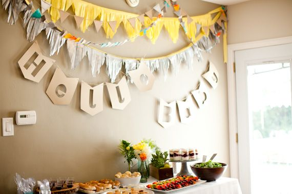 Modern, garden LA baby shower | Chris and Kristen Photography | 100 Layer Cakelet