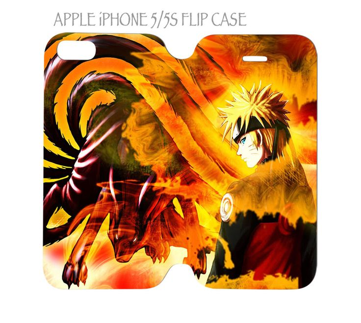 iPhone 5 / 5s Flip Case Folio Cover Naruto Anime #QuinnCafe