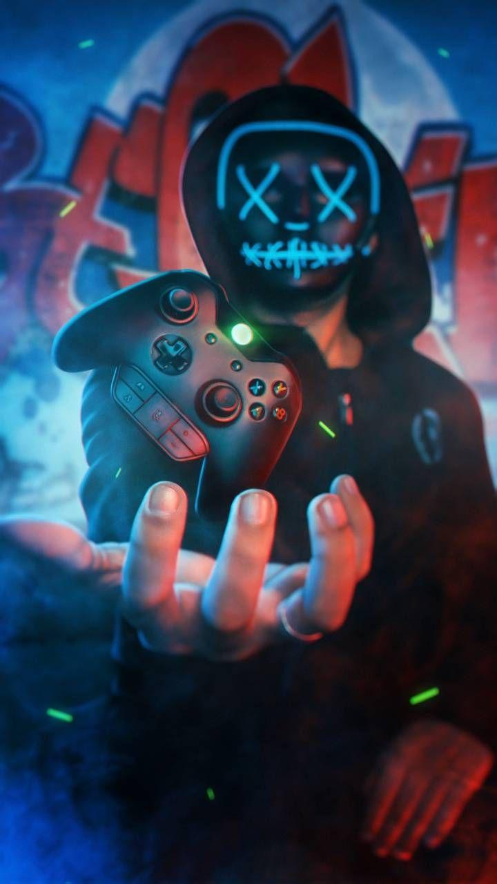Download Neon Boy Xbox wallpaper by AmazingWalls c0