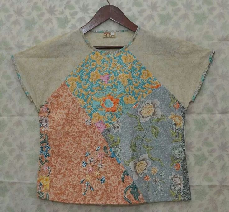 Use small pieces of leftover fabric