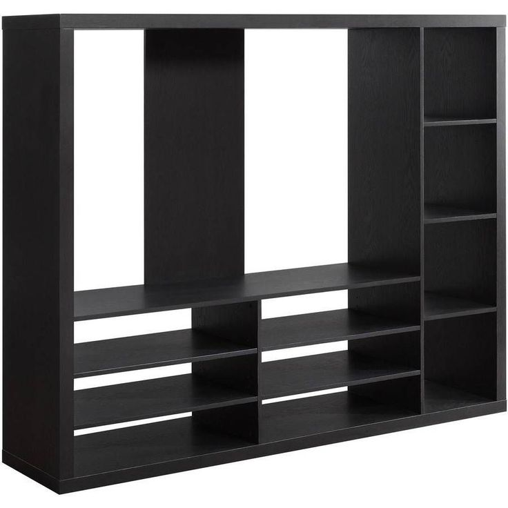 Entertainment Center Wall Unit Contemporary Cabinet TV Stand Furniture Storage #EntertainmentCenterWall
