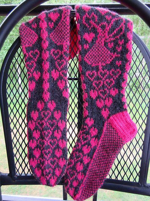 Ravelry: Rakastunut keijukainen sukat pattern by Marja Viitaniemi