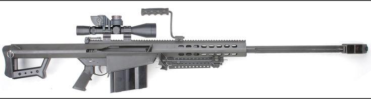 Barrett Model 82A1 C-Q .50 BMG caliber