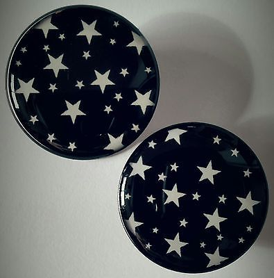 Acrylic Plugs with Stars (Available in Sizes 6mm-20mm) http://stores.ebay.com/hallowseveboutique #plugs #gauges #bodyjewelry #modification #stretching #ear #lobe #stars