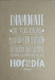 Enamórate, enmórate de lo que quieras y hazlo con amor! www.grettelyfelipe.com