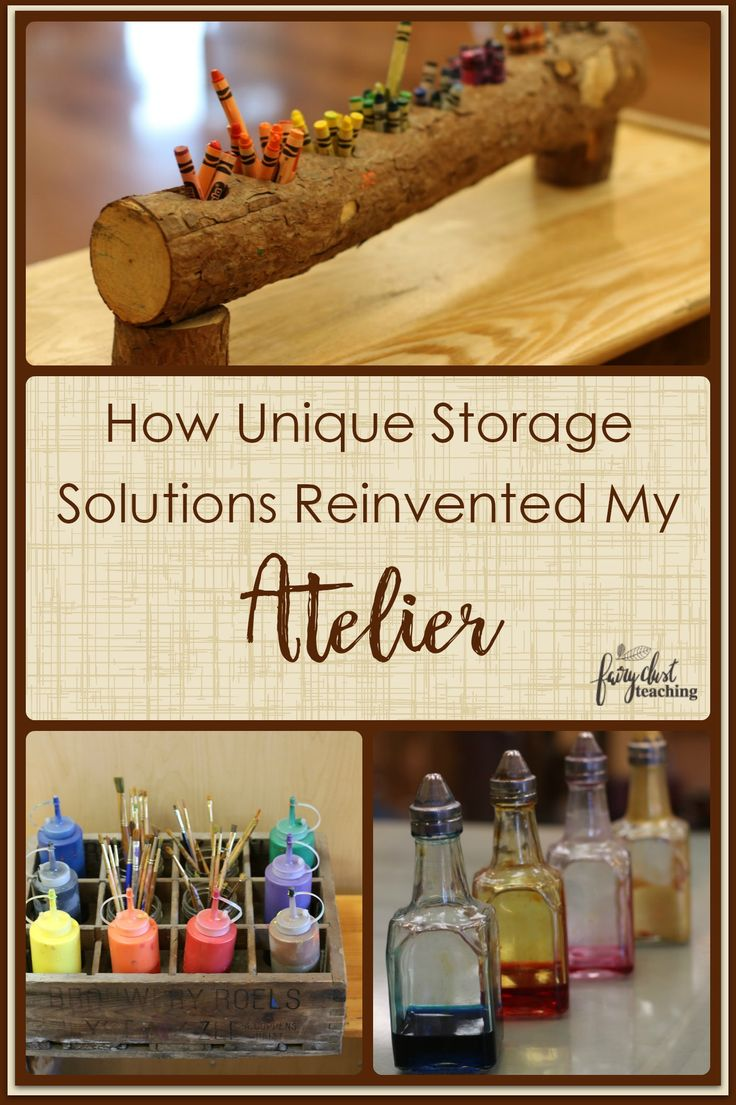 How Unique Storage Solutions Reinvented My Atelier l Fairy Dust Teaching #atelier #storage