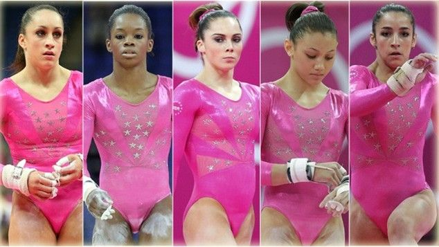 FAB FIVE (gymnastics) I love gymnastics so much. my entire childhood revolved around it