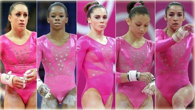 U.S.A. 2012 Olympics Gymnastic Team: Fab Five Gymnastics, Gold Medalist, 2012 Olympics, London Olympics, Olympics 2012, Favorite Gymnastics, Gymnastics Team, Team Usa, 2012 London