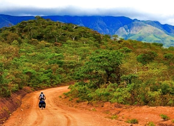 Facing our giants in Eden |  Ricolette von Wielligh and her husband depart on an epic multi-thousand kilometre Do It Yourself cycle tour through Africa!  #epic #adventure #cycling #DIY #Africa #RicolettevonWielligh #DoITNowMagazine