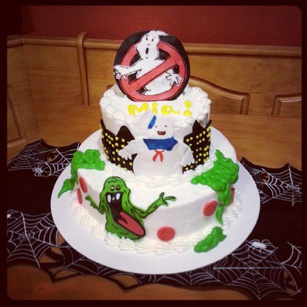 Pin Slimer Ghostbuster Cake Birthday Ideas Cake On